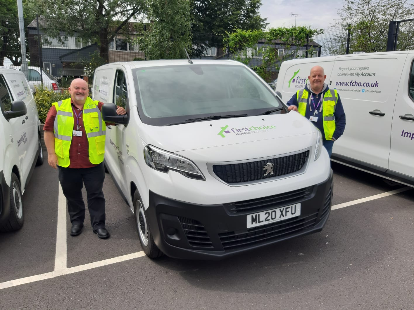 First Choice Homes Oldham's new 'cleaner' fleet supports local economy