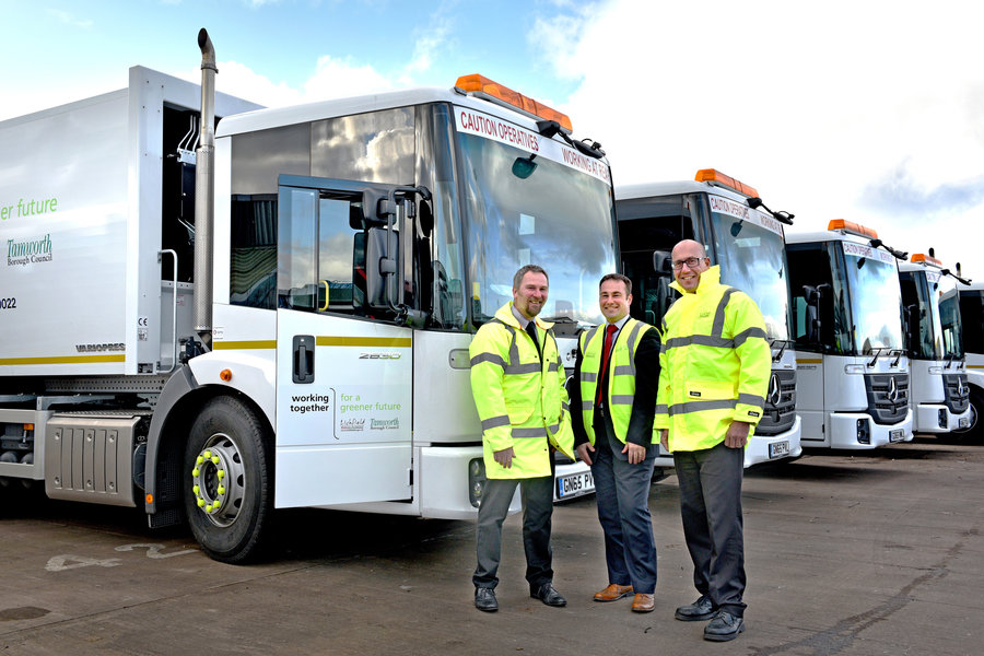 A Smooth Transition For Lichfield & Tamworth Joint Waste Service