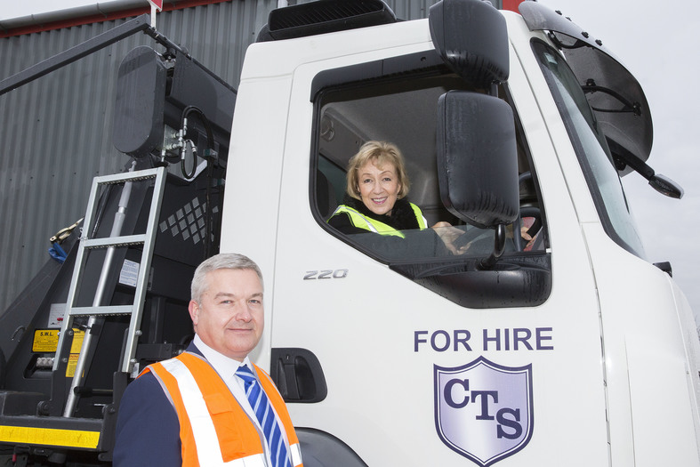 Andrea Leadsom MP Visits New Depot