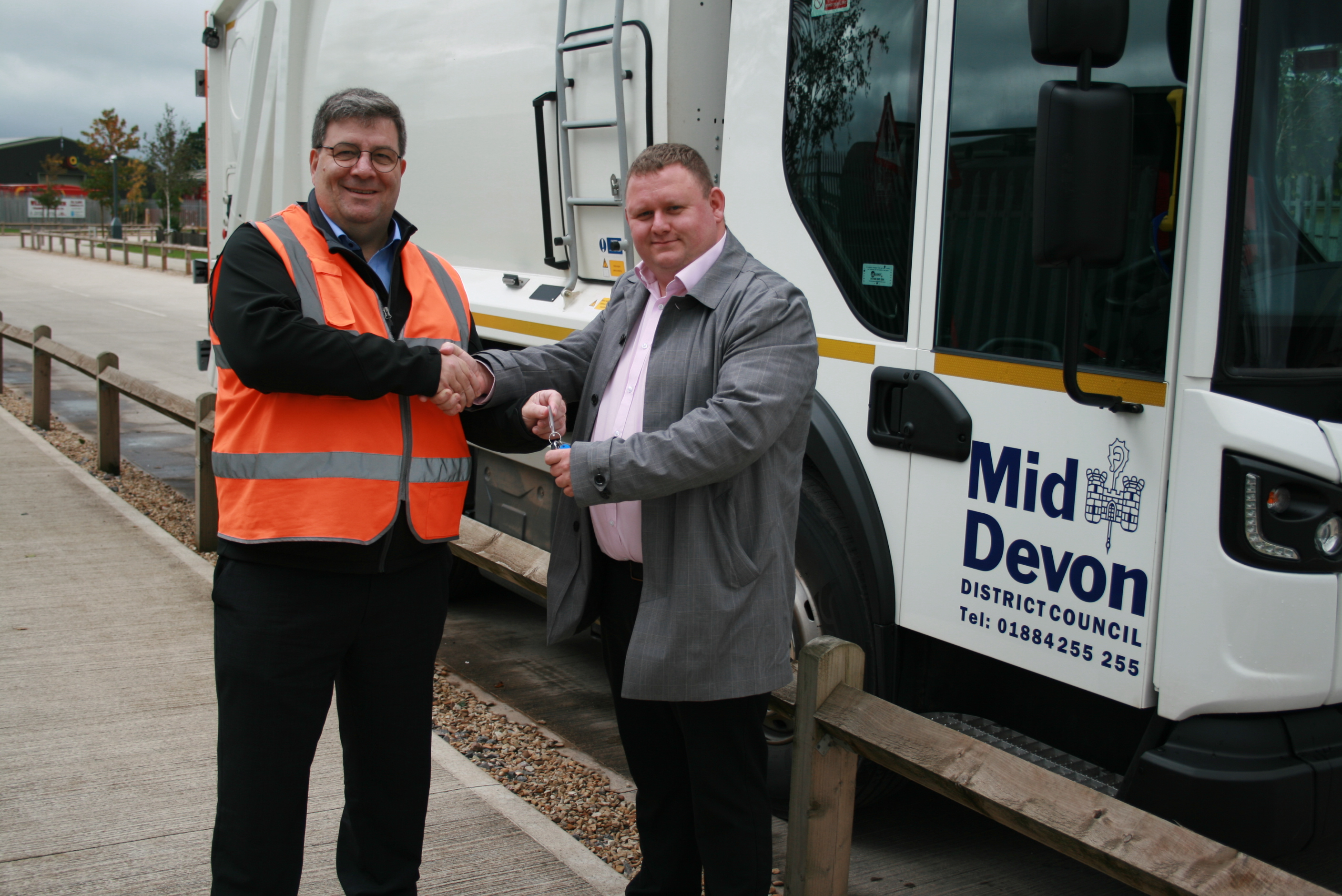 New fleet starts to arrive at Mid-Devon District Council