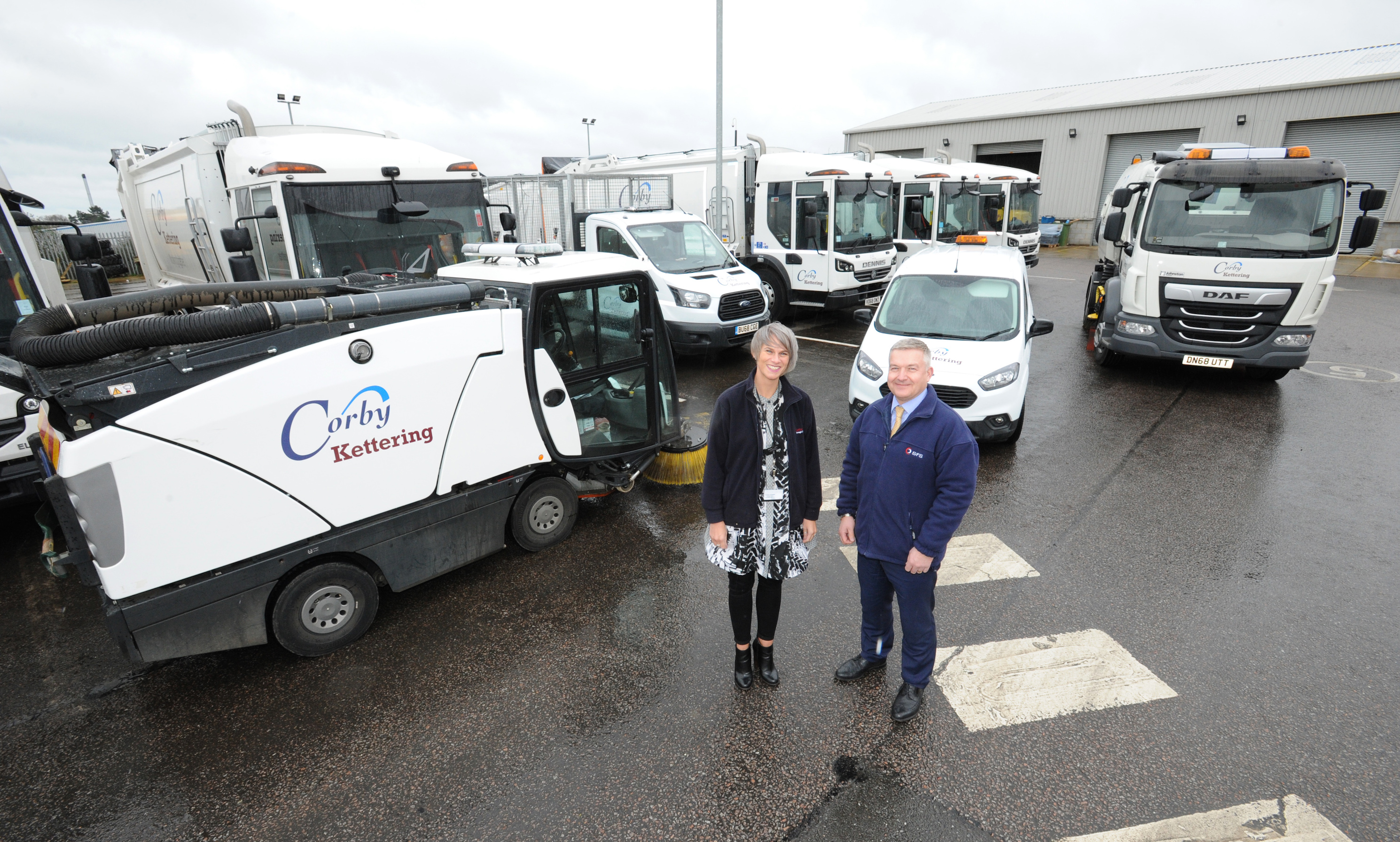 New Waste And Recycling Fleet Arrives For Kettering & Corby