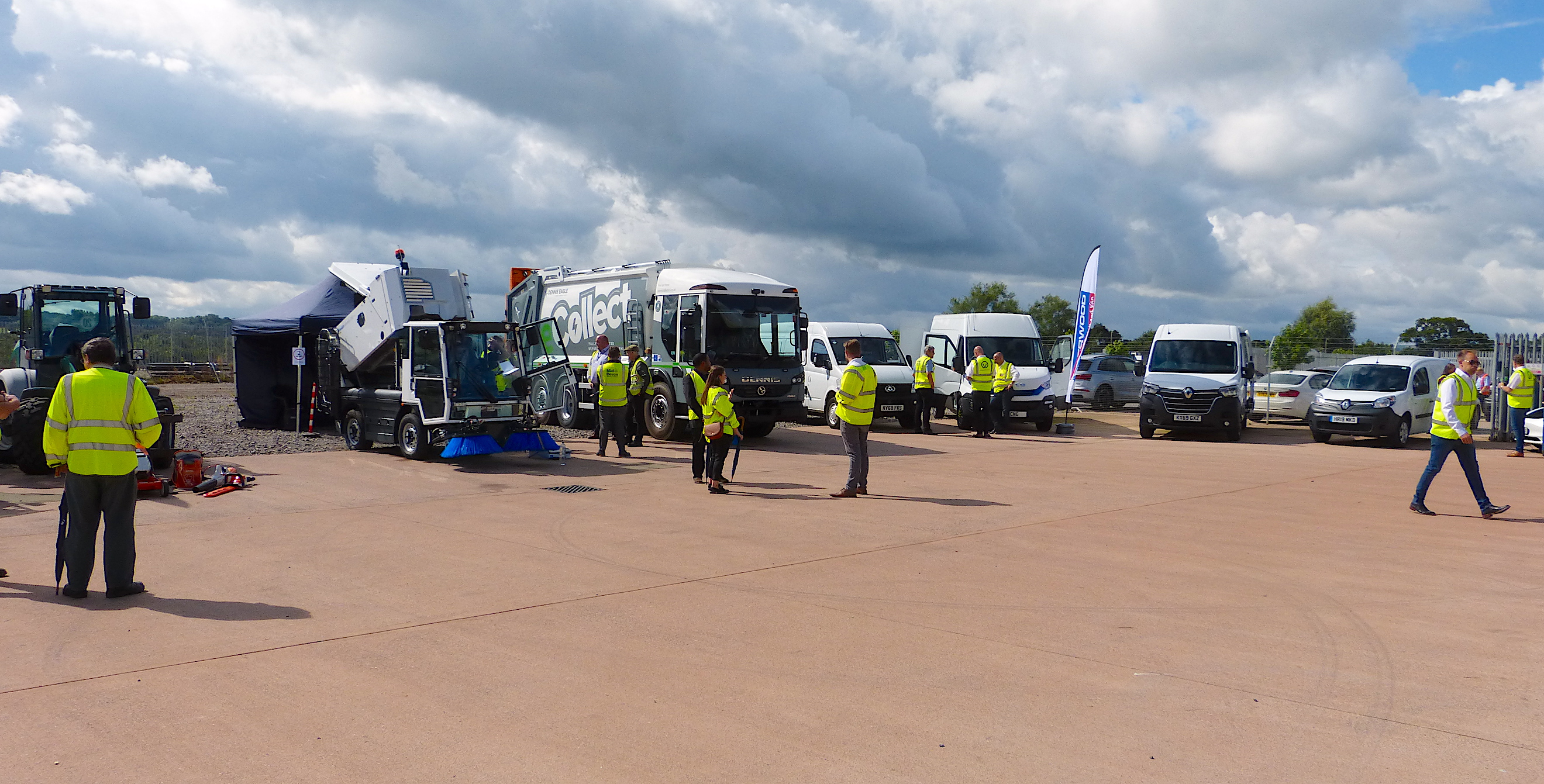 SFS hosts socially distanced Low Carbon Emissions Vehicles event