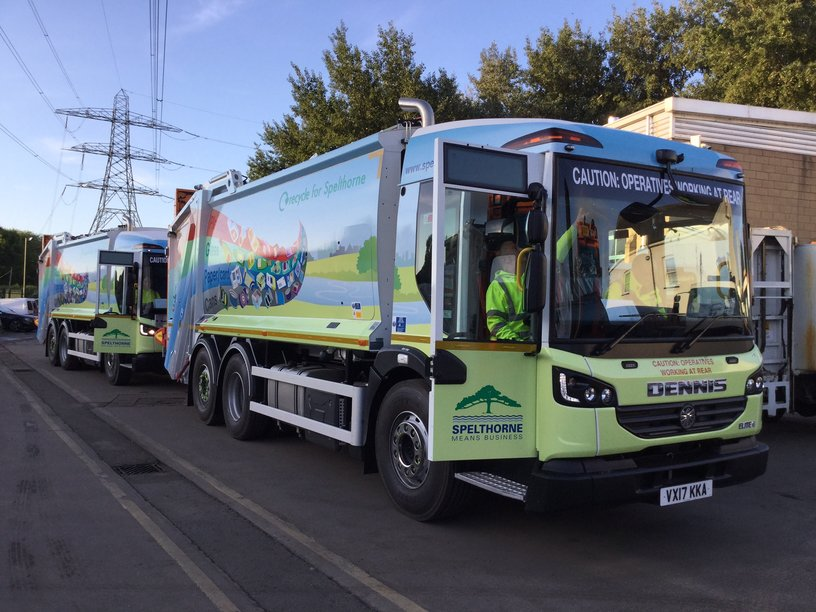 Spelthorne 'Means Business' With New Fleet
