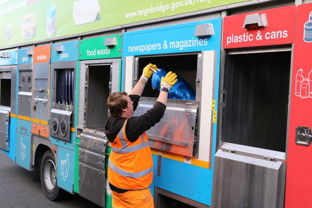 New Recycling Fleet Starts Weekly Collections In Teignbridge
